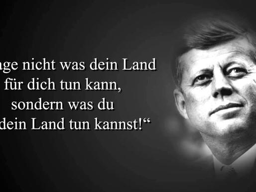Von John F. Kennedy über den Senat Deutschland zum Senat International