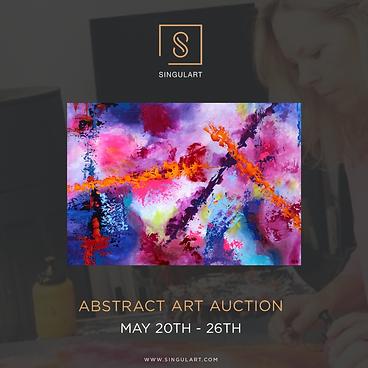 Abstract Art Auction Singulart Karin Doering