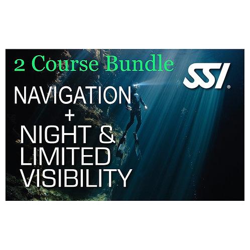 SSI Bundle - Navigation & Night Diving