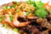 Lemongrass Chicken & Grilled prawns on vermiceli.jpg