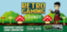 Retro Gaming Lounge at Geektopia