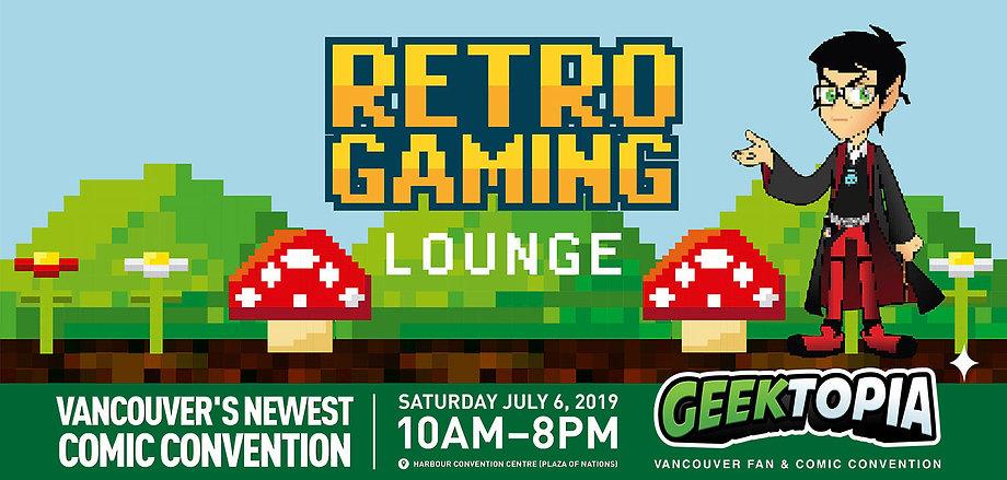 Retro Gaming Lounge at Geektopia