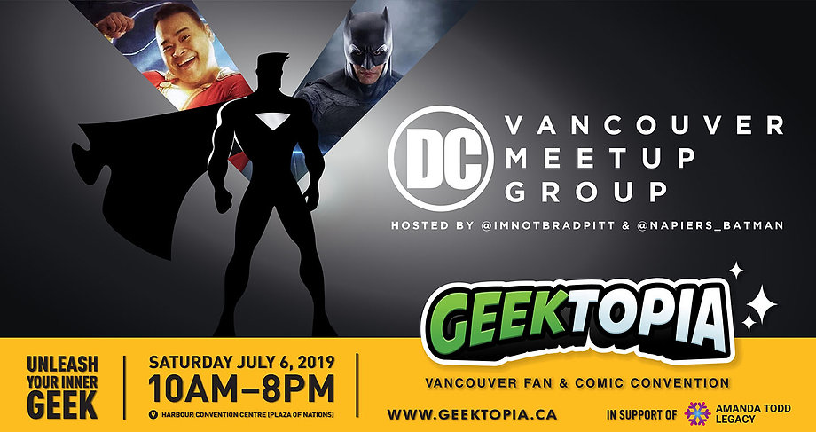 DC Vancouver Meetup Group at Geektopia