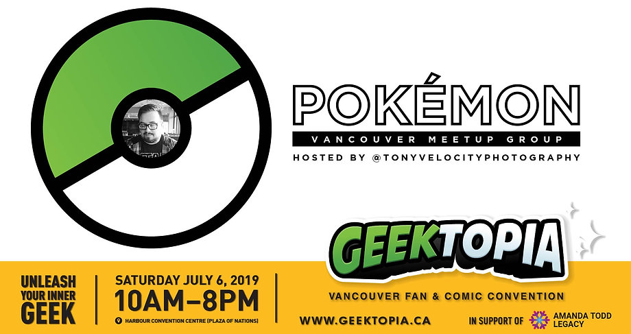 Pokemon Vancouver Meetup Group at Geekto