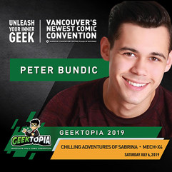 Learn more about Peter Bundic!