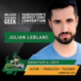 Van Expo Geektopia_Julian Leblanc - Inst