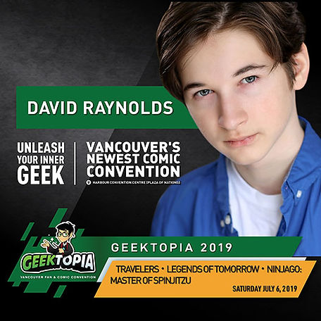 David Raynolds at Geektopia