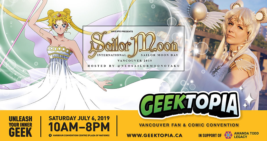 Sailor Moon Vancouver Meetup Group at Ge
