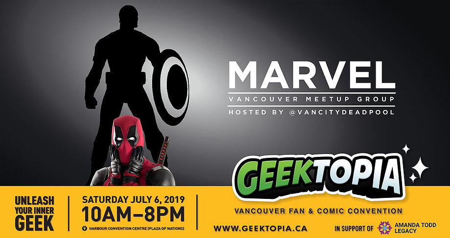 Marvel Vancouver Meetup Group at Geektopia!