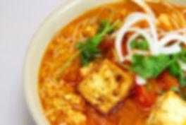Vegan noodle soup, vietnamese food,vancouver restaurant Kitsilano