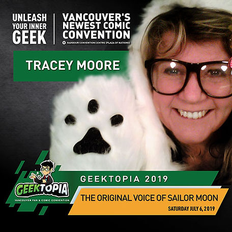 Tracey Moore at Geektopia