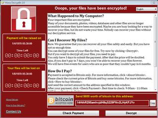 Behaviour Analysis of Ransomware Wana Decryptor