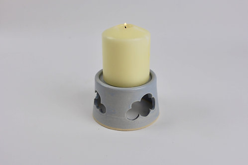 Clouds Pillar Candle Holder
