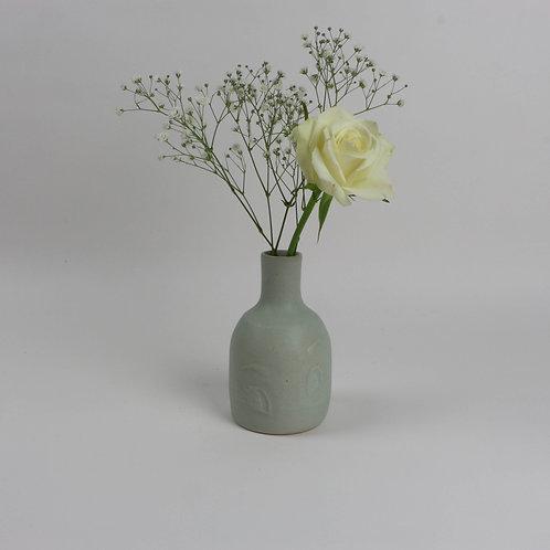 Etched Eyes Vase