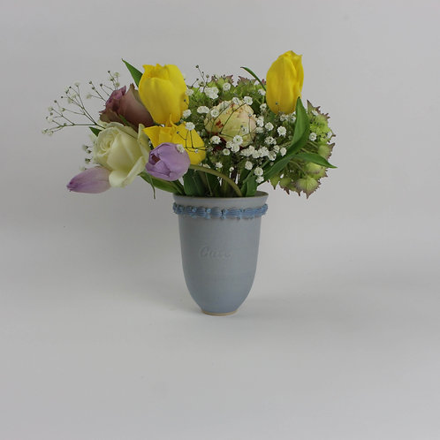 Piped 'Cute' Vase