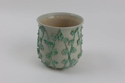Piped Trellis Pot