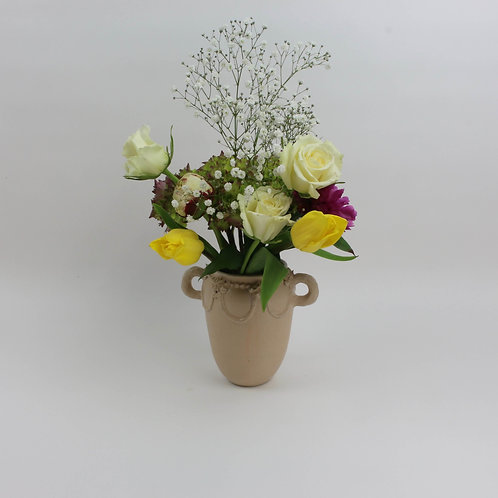 Piped Vase