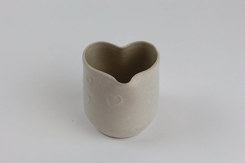 Heart Milk Jug