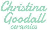 Christina Goodall Ceramics Pottery Logo