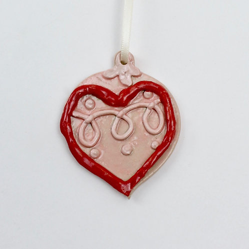 Heart Bauble Christmas Ornaments