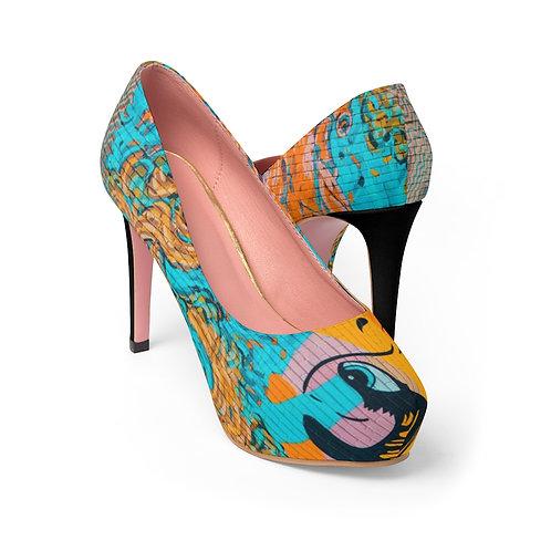 DEIBA Women's Platform Heels