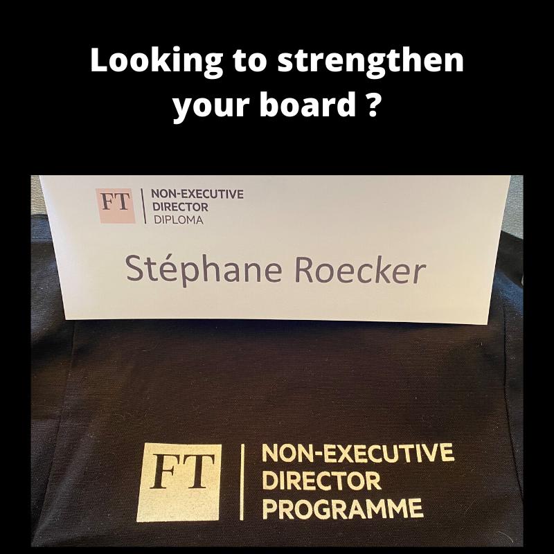 stephane roecker board member NED