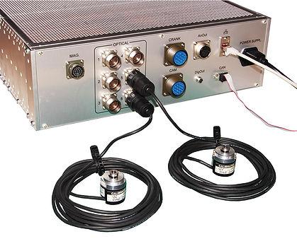 digital angular position speed offset optical encoder