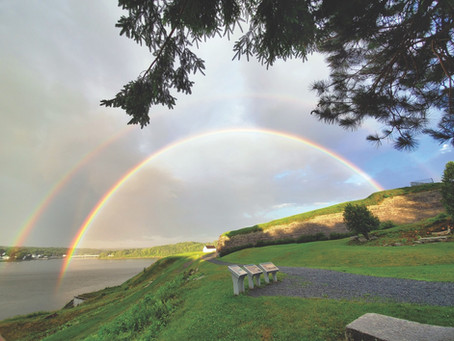 Double Rainbow From Fort Knox