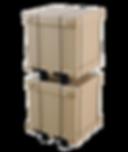 YPプロサイドと2段積み貨物