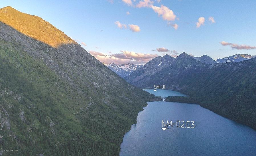 Среднее Мультинское озеро Нижнее Мультинское озеро paleoaltai экспедиция