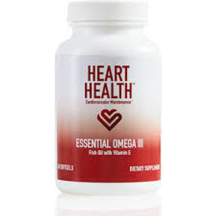 Heart Health Essential Omega III Fish Oil with Vitamin E