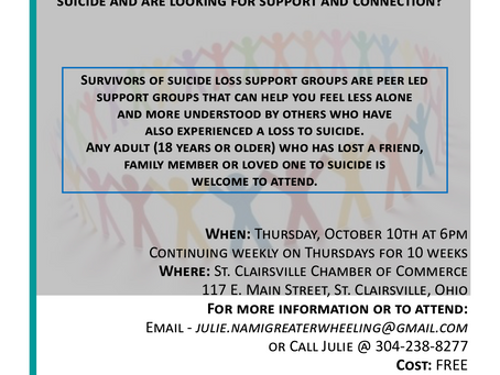 Ohio Valley Survivors of Suicide Loss Support Group
