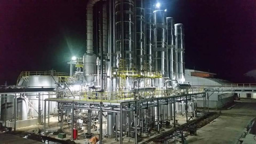EPC for Fuel Alcohol Production Capacity Phase II (200,000 Liter Per Day)
