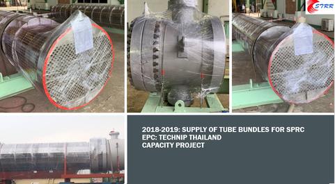 2018-2019 SPRC Tube Bundles