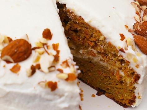 Carrot Cake Healthy – Sans Gluten