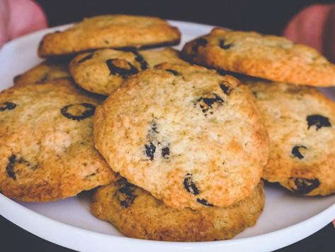 Cookies Chocolat Blanc et Cranberries