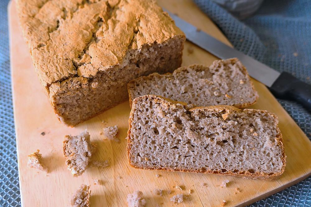 pain sans gluten au sarrasin psyllium