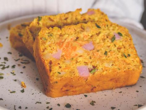 Cake aux Carottes, Jambon et Comté
