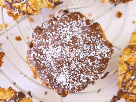 Cookies Sans Gluten Noix de Coco et Chocolat