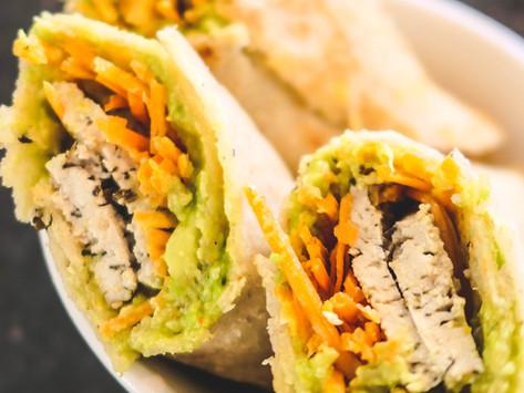 Wraps 3 ingrédients - Express et Sans Gluten