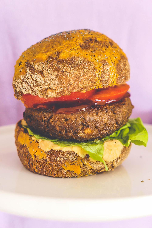 pains burgers rustique recette psyllium