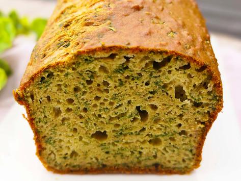Cake Salé au Pesto, Chèvre et Épinards