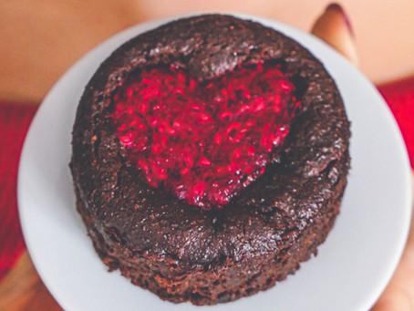 Fondant de L'Amour – Chocolat coeur Framboise