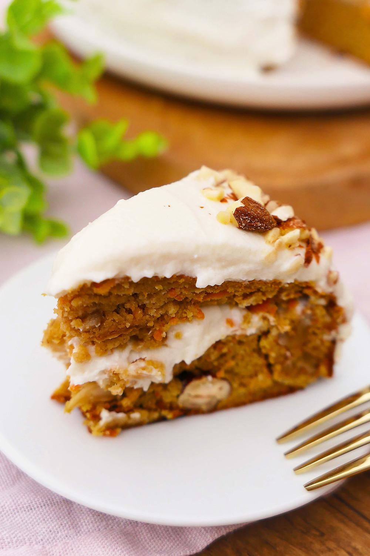 carrot cake healthy sans gluten recette constipation manger