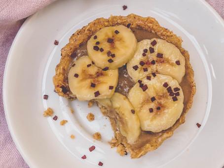 Tartelettes Crues à la Banane – Sans Cuisson