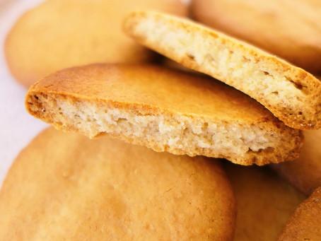 Biscuits Sablés à la Fleur d'Oranger - Sans Beurre