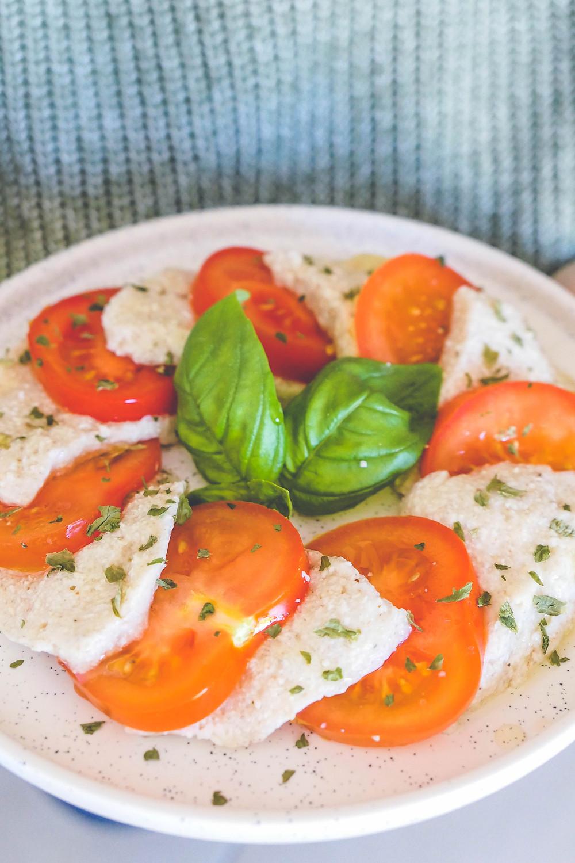 fausse mozza mozzarella vegan recette psyllium
