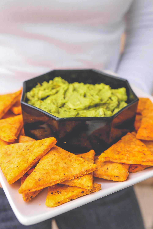 chips doritos apéritif mozarrella origan recette psyllium