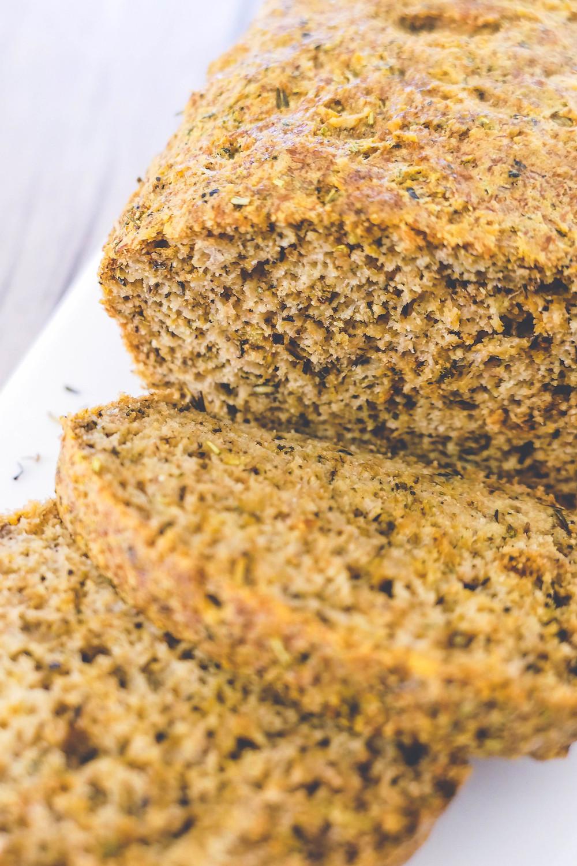 pain au parmesan et herbes de provence ig bas recette psyllium blond