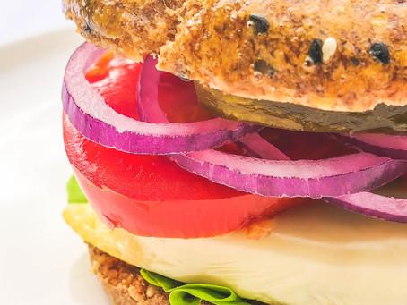 Burger avec Psyllium Blond - Recette Cétogène et Digeste